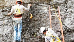 Protección de concreto
